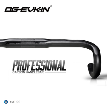 OG-EVKIN HB-010 Carbon Handlebar Road Bike Drop Bar Bicycle Handlebar Road Bike Handlebar 31.8MM 400/420/440/460 Bicycle Part 2017 newest qilefu road bike racing ud full carbon fibre bicycle handlebar internal cable 31 8 400 420 440mm parts free shipping