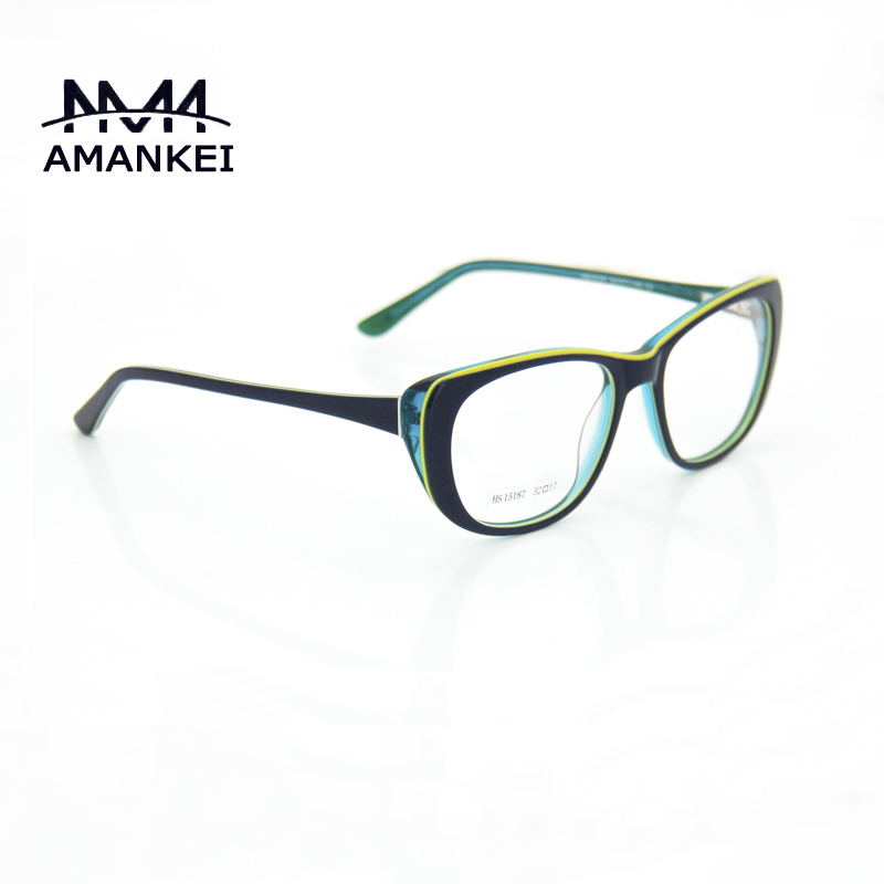 925ca0671ee Mix Color Acetate Best Womens Eyeglasses Online Discount Eyewear Frames  Female Oval Striped Optical Glasses Frame with Case-in Eyewear Frames from  Apparel ...