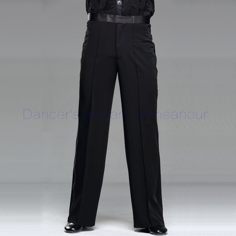 Men's Latin Dance Costume Men's Spandex Latin Dance Trousers Men's Rumba / Samba / Tango Cha Cha / Jazz Men's Dance Wear K06