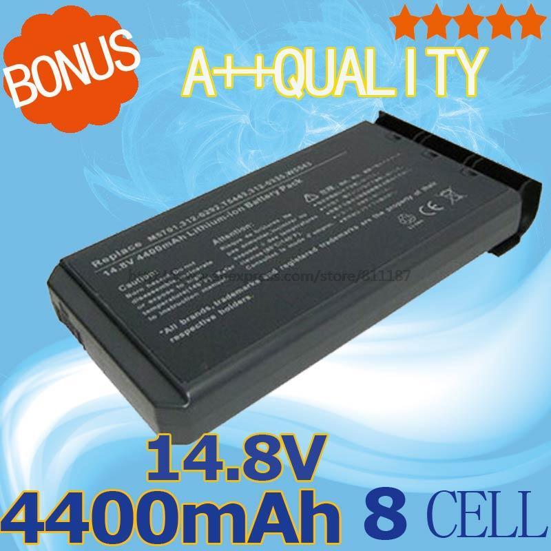 14 4V 4400mAh Laptop Battery For Dell Inspiron 1000 1200 2200 for Latitude 110L H9566 M5701