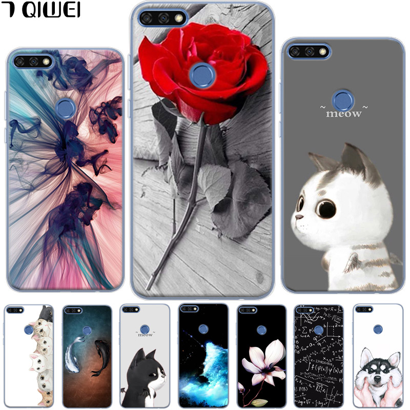 Y5 Prime 2018 Case On For Huawei Y5 2018 Cover Huawei Honor 7a Dua-l22 5.45 Capa Panda Soft Silicone Liquid Cartoon Phone Cases Easy To Repair Cellphones & Telecommunications