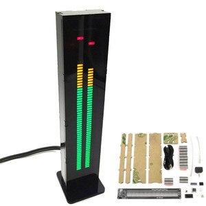 Image 2 - CLAITE Kit de Medidor de VU de espectro musical Binaural con carcasa, AS60, doble canal, 60 segmentos, 1 ud.