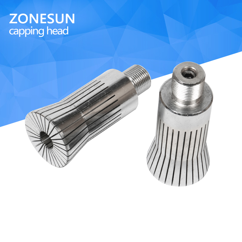 ZONESUN capping head for new Perfume cap crimping machine capper, metal cap press machine capping machine perfume bottle sprayer pump lid cap seal crimping machine pliers tool for 13mm 15mm 20mm optional