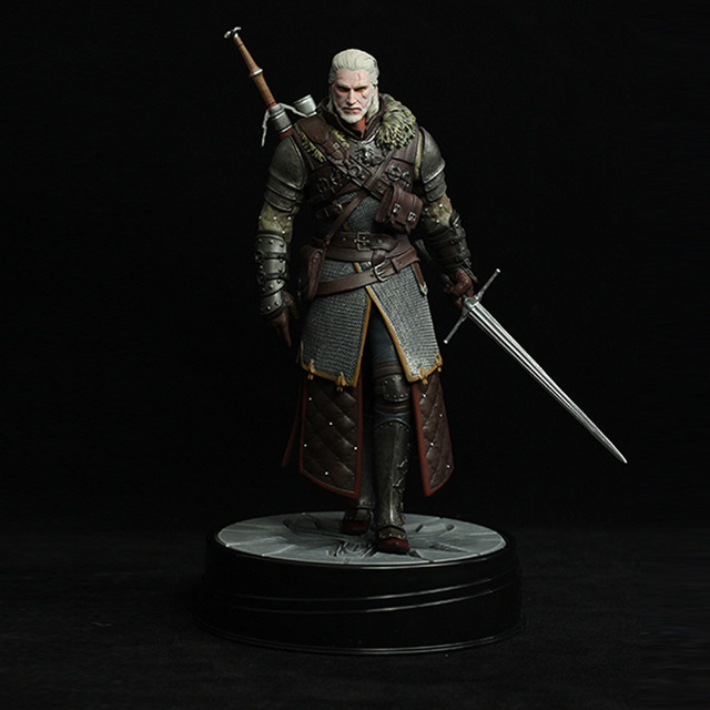 1/6 Cavalo Escuro The Witcher Geralt 3 Figura Action Figure Coleção toy frete grátis