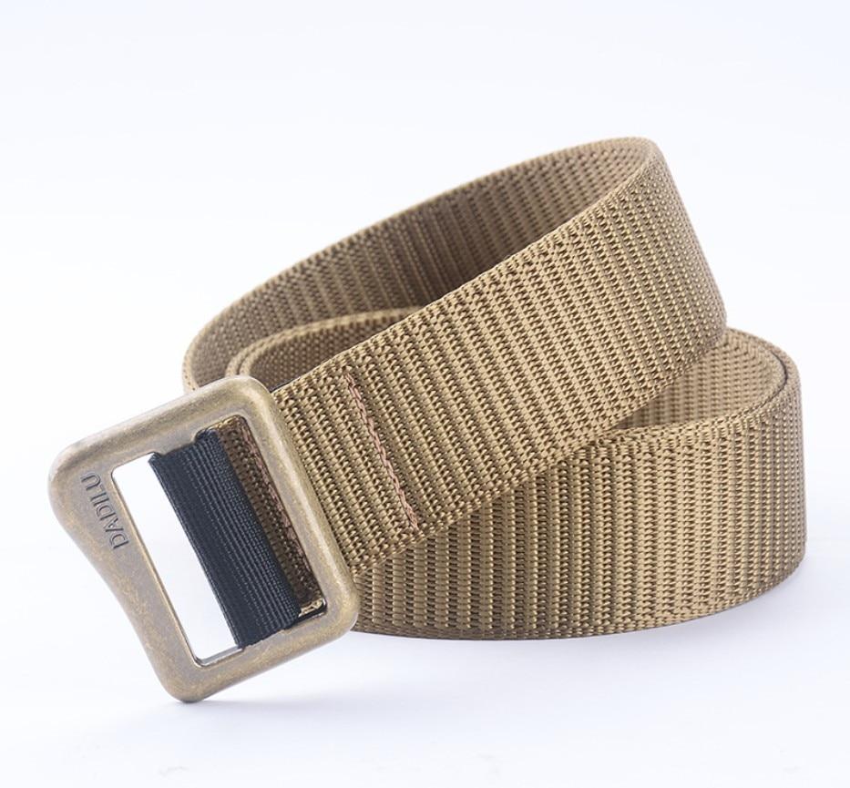 olive green color nylon webbing belt for military belt thick belt ...