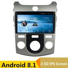 9 «Android 8,1 автомобильный DVD мультимедийный плеер gps для KIA Forte Cerato 2008 2009 2010-2012 аудио автомобиля Радио Стерео Навигатор bluetooth