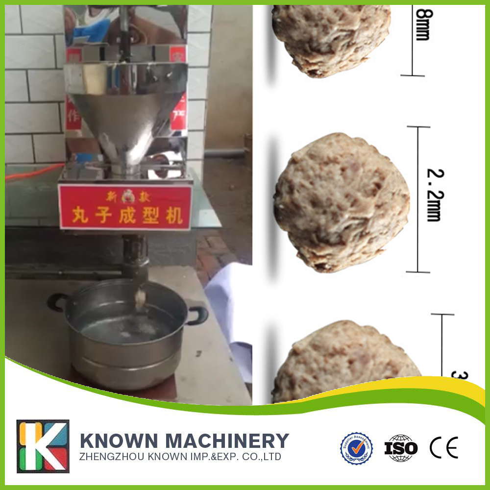 Export EU High Quality 50kg Commercial Mini Table Type Meatball Making Machine For Sale