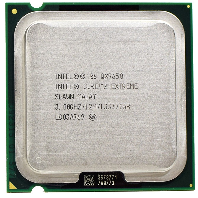 Intel Core 2 Extreme QX9650 SLAN3 SLAWN CPU//LGA775 CPU Processor