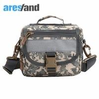Aresland Men S Military Bag Nylon Crossbody Bag Shoulder Messenger Field Bag Camouflage
