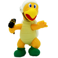 Super Mario Bros Hamner Koopa Troopa Turtle 4 5 Doll Action Figure Loose Free Shipping