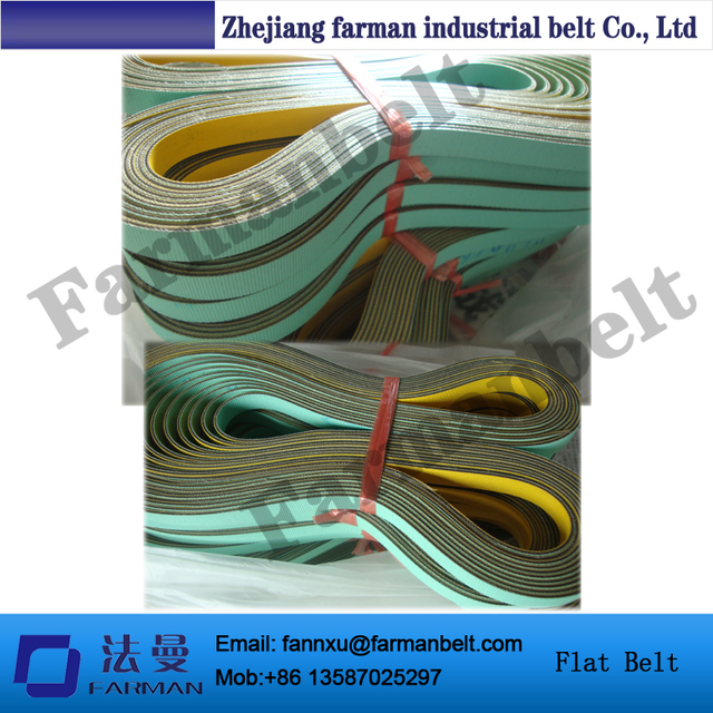Nylon Base Sheet Anti static Transmission Flat Belt For Small ...