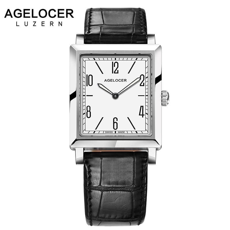 Agelocer Women Watches Top Brand Luxury Ladies Steel Analog Quartz Wrist Watch Ultra Thin Women's Watches montre relojes 2017