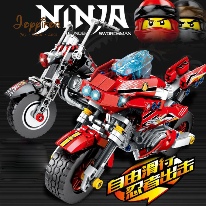 Toys & Hobbies Model Building Careful Joyyifor Hot Figures Motorcycle Building Blocks Bricks Toys Compatible Legoinglys Ninjagoingly Toy For Kids Best Gifts Kai Skillful Manufacture