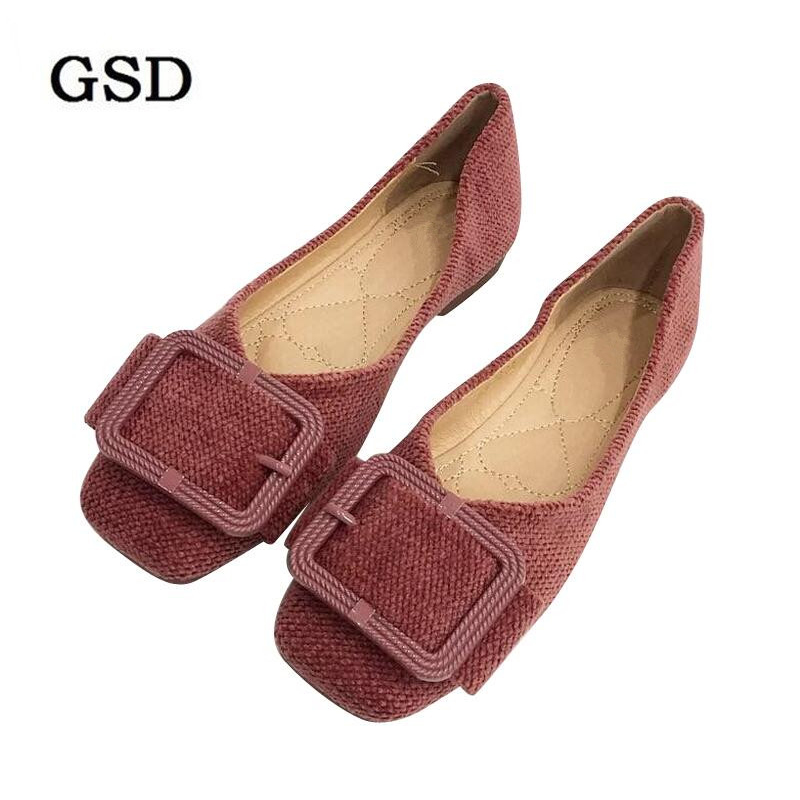 2019 Spring New Women Ballet Flats Shoes Woman Casual Loafers Single Shoes Lady Soft Fashion Women shoes Footwear Zapatos Mujer
