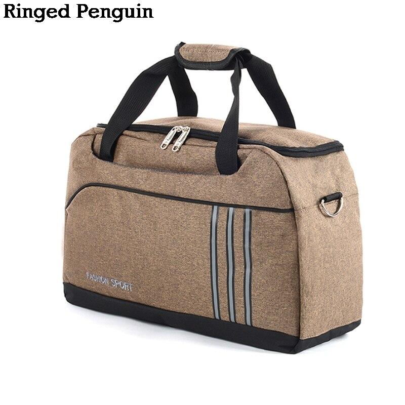 Modo Delle Donne di Viaggio uomini Borsa Da Viaggio Pinguino inanellati  Imballaggio Cubi 5 Colori Borsa Da Viaggio Weekender bolso de viaje mujer a3b65dd7a22