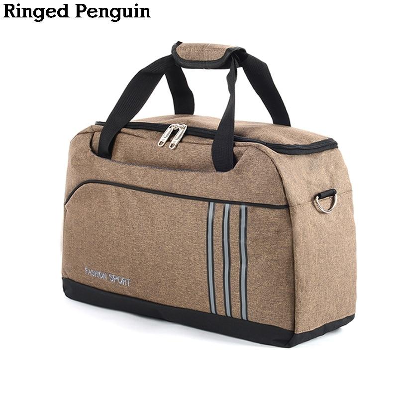 Ringarna Penguin Män Resväska Kvinnor Mode Resor Weekender Packing - Väskor för bagage och resor - Foto 1