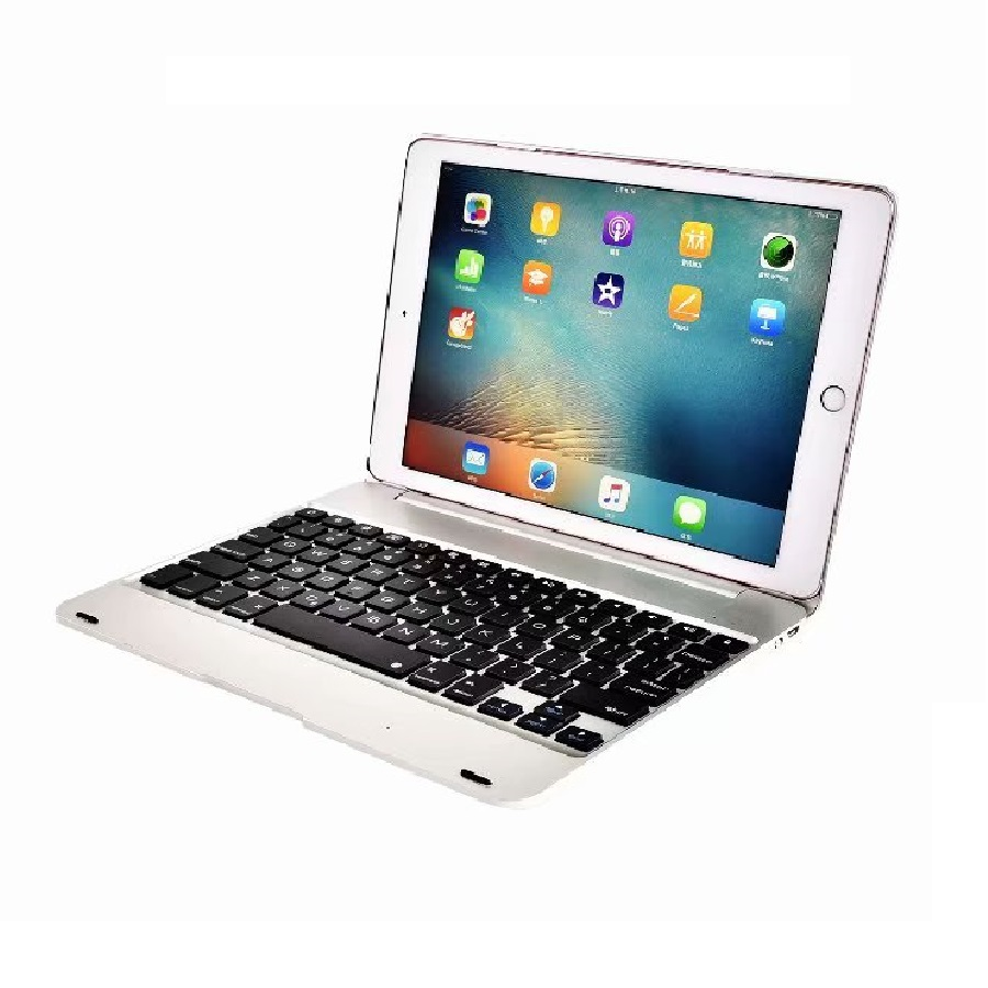 Wireless for iPad 2017 9.7 Cover with Keyboard 9.7'' A1822 A1823 Bluetooth PVC for iPad 9.7 2017 Keyboard Case for iPad 6th Case