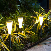 High Quality Multi Functional LED Solar Lights Waterproof Lawn Lamps Garden Decorative Street Lights Outdoor Lighting