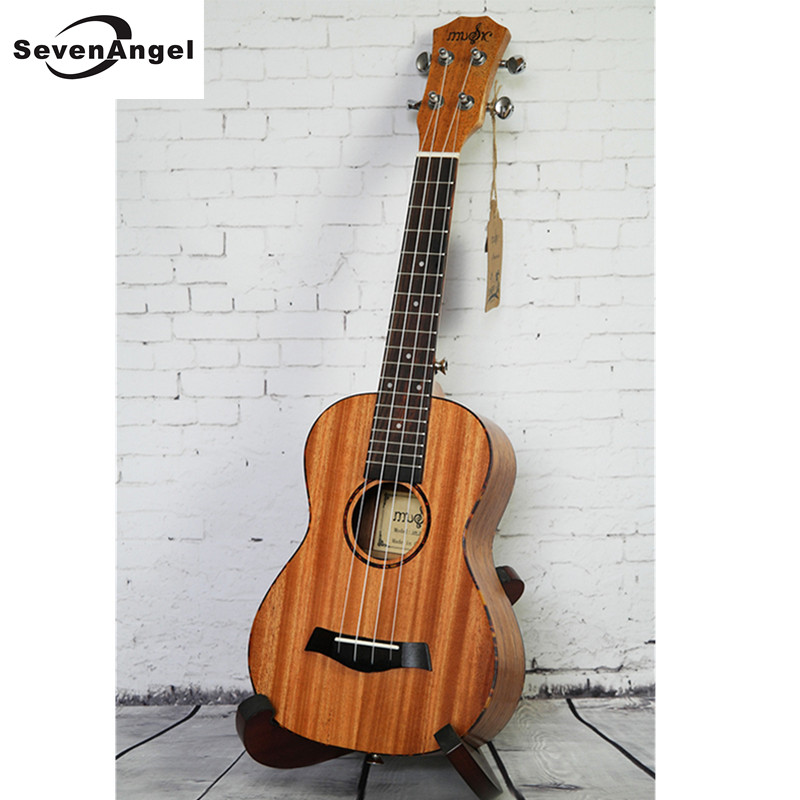High Quality Ukulele 4 String Hawaiian Guitar 23/26 inch Veneer Ukulele Chibson Acoustic guitar Rosewood Fingerboard 2016 new factory sunburst finish chibson j45 acoustic guitar classical double rhombic inlays rosewood body and sides