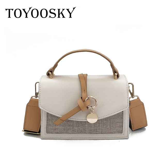 2beb288d491e3 TOYOOSKY high quality small ladies messenger bags leather shoulder bags  women chains crossbody bag for girl brand women handbags