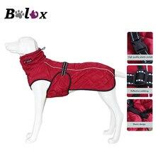 Куртка для собак, водонепроницаемая Светоотражающая куртка для собак крупных пород, Зимняя Теплая Флисовая Куртка для домашних животных, утолщенная Одежда для собак, товары для домашних животных