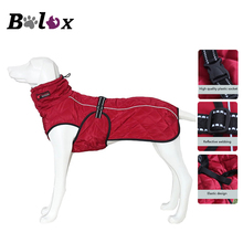 Dog Jacket Waterproof Reflective Large Dog Coat Winter Warm Fleece Pet Jacket Thickening Dog Clothes for Pet Supplies