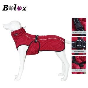 Image 1 - Hond Jas Waterdicht Reflecterende Grote Hond Jas Winter Warm Fleece Pet Jas Verdikking Hond Kleding voor Dierbenodigdheden
