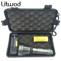 Buceo linterna LED xm-l T6 subacuática ipx8 impermeable linterna 5000lm antorcha Natación Flashlight submarino Accesorios