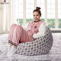 New Style Removable Washable Lazy Bean Bag Living Room Furniture Linen Fabric sofa  Various Styles  Chair 90*80cm