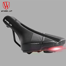 Wheel Up Bicycle Seat With Taillight Mountain Bike Decompression Wear Comfortable Road Cushion