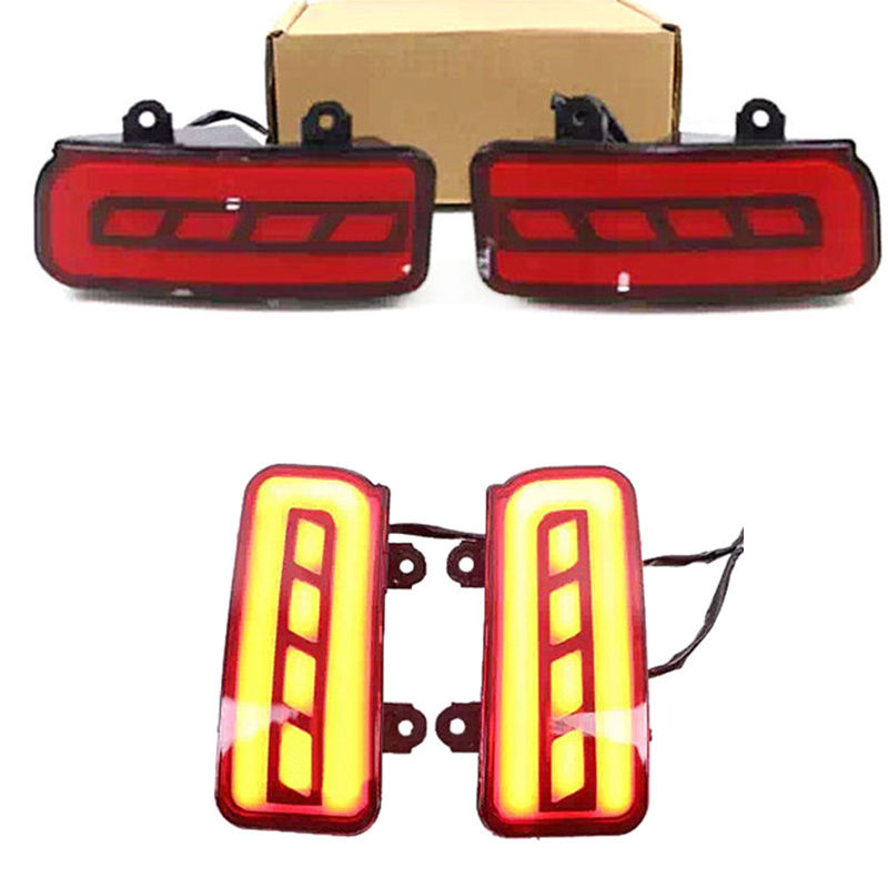 1d4acf4d3d Multi-fonction LED Rear Bumper Light Rear Fog Lamp Brake Light Turn Signal  Light Reflector For Honda CRV CR-V 2015 2016