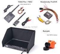 Runcam 700TVL Owl Camera TS832 RC832 Plus 7 Inch LCD 1024 X 600 Monitor ProDVR Pro