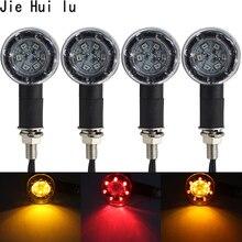 4pcs Universal Motorcycle Flasher Turn Signal Light LED Indicators light Brake Rear Running Lamp