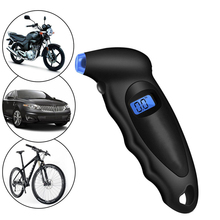 Digital Tire Pressure Gauge 150 PSI - Accurate Gauges with Backlit LCD, Lighted Nozzle and non-slip Grip