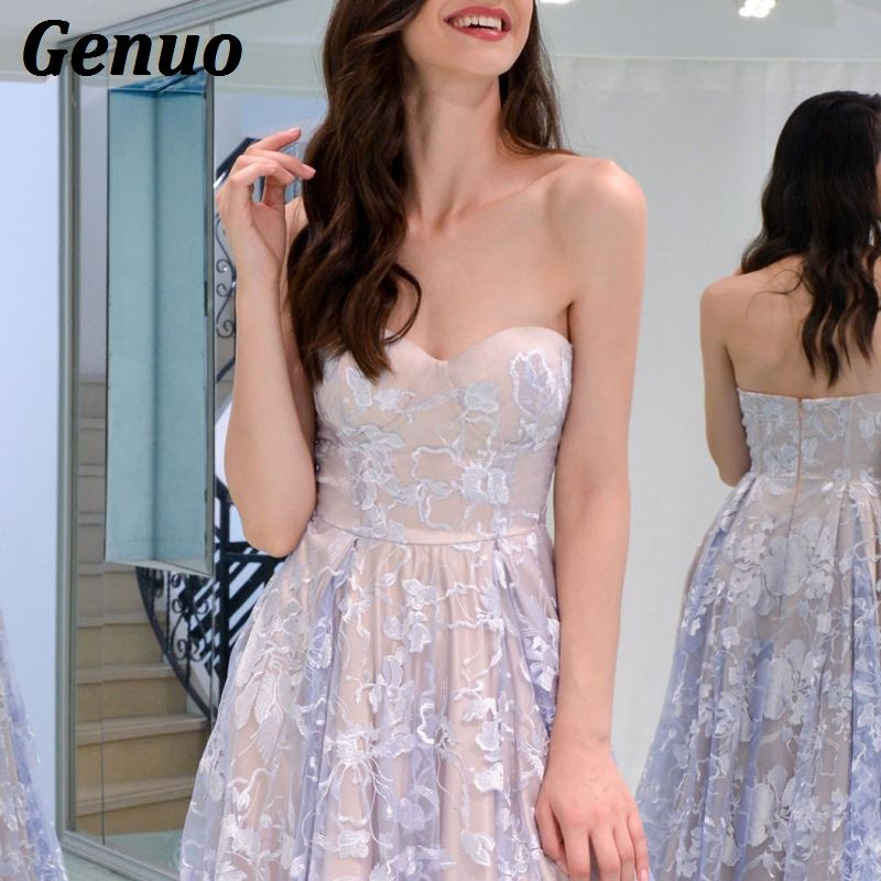 Floral Lace Party Long Dresses 6