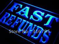 I302 Reembolsos Rápidos Serviços Fiscais LED Sign Neon Light On/Off Switch 20 + Cores 5 Tamanhos