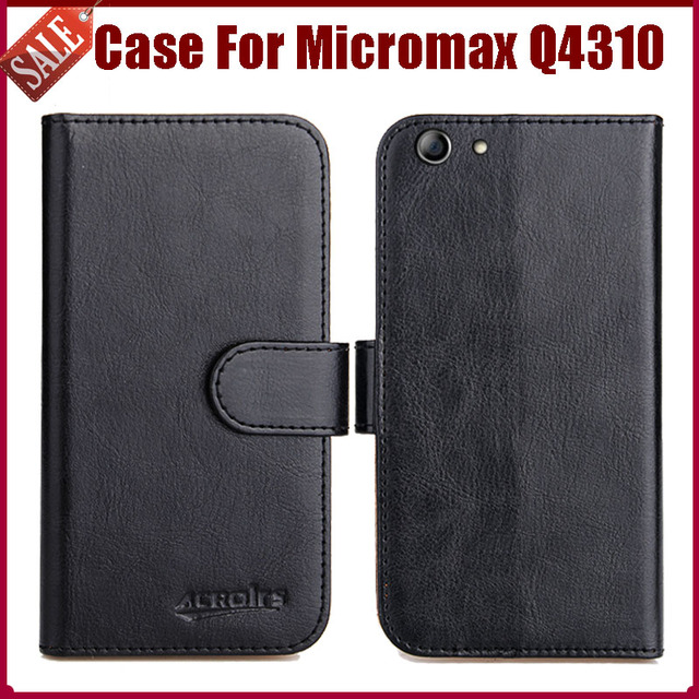 meet 4974d d8996 US $4.59 8% OFF|Hot Sale! Micromax Q4310 Canvas 2 (2017) Case New Arrival 6  Colors High Quality Flip Leather Protective Phone Cover Case-in Flip Cases  ...