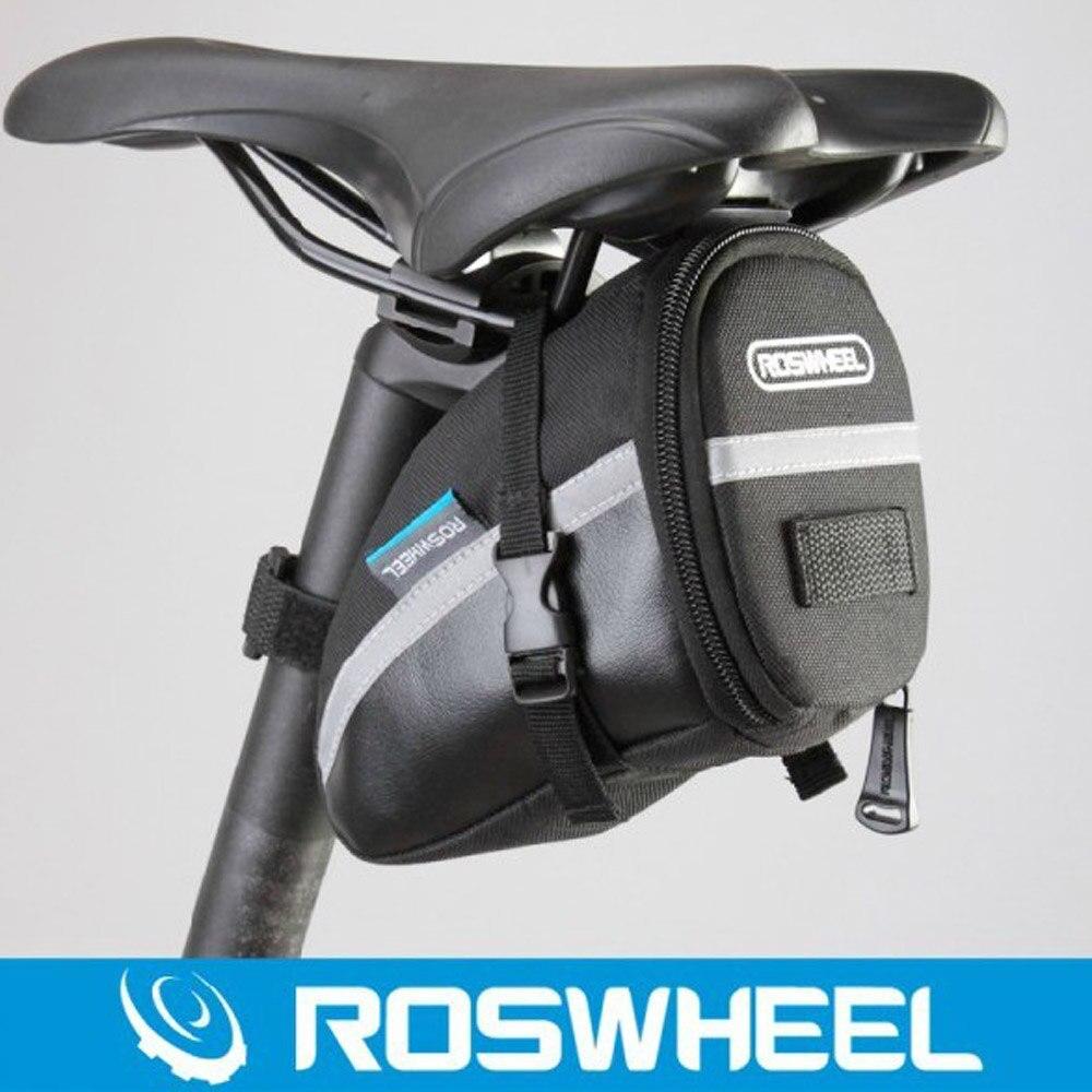 Roswheel Bicycle Tail Mountain Bike Tail Road Car Bag Saddle Bag Pouch Seat Bag