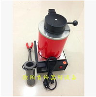 Jewelry Casting Tools 220V 2KG Capacity Gold Electric Melting Furnaces With Graphite Crucible Plier Silver Smelting