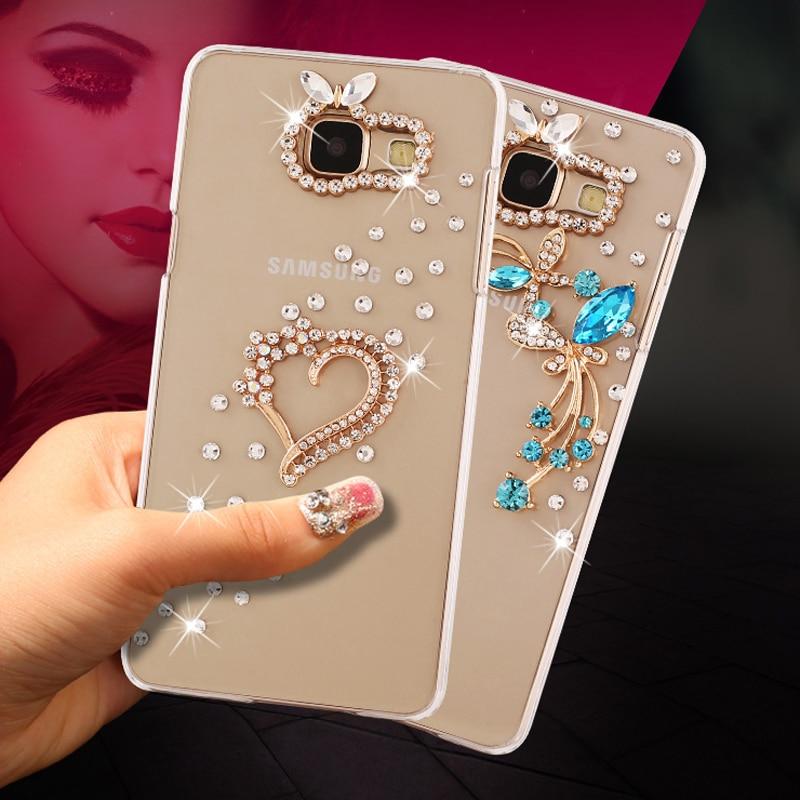 3D Papillon Strass Cas pour Huawei Y5 Y 5 ll Y5ll CUN-L21 CUN-U29 CUN-L01 pour Huawei Y5 2 Y 5 2 CUN L21 U29 L01