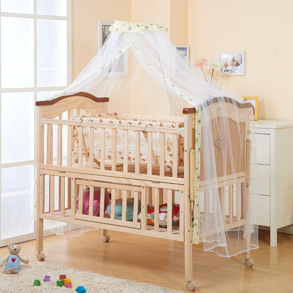 buy 2016 hot sale baby bed multifunction wood bed children 39 s bunk beds playpen. Black Bedroom Furniture Sets. Home Design Ideas