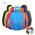 Мужская и женская быстросохнущая походная куртка легкая водонепроницаемая отражающие ультрафиолетовое излучение покрытия для спорта на о...