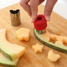 8 Pcs Vegetable Cutters Shapes Set DIY Cookie Cutter Flower for Kids Shaped Treats Food Fruit Mold