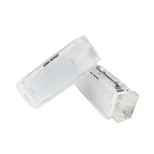Image 3 - Angrong 2x白色ledトランクグローブボックスライトランプ室内灯プジョー 206 207 306 307 3008 406 407 5008 607 806