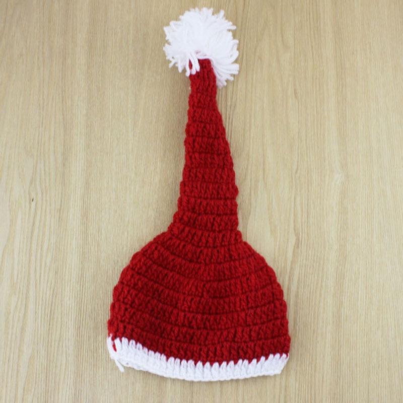 Gifs navidad Santa Claus estilo Crochet gorros gorro de invierno y ...