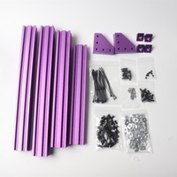 funssor Prusa i3 MK2S/MK3/MK3S Bear frame extrusion kit anodized finish with Multi color