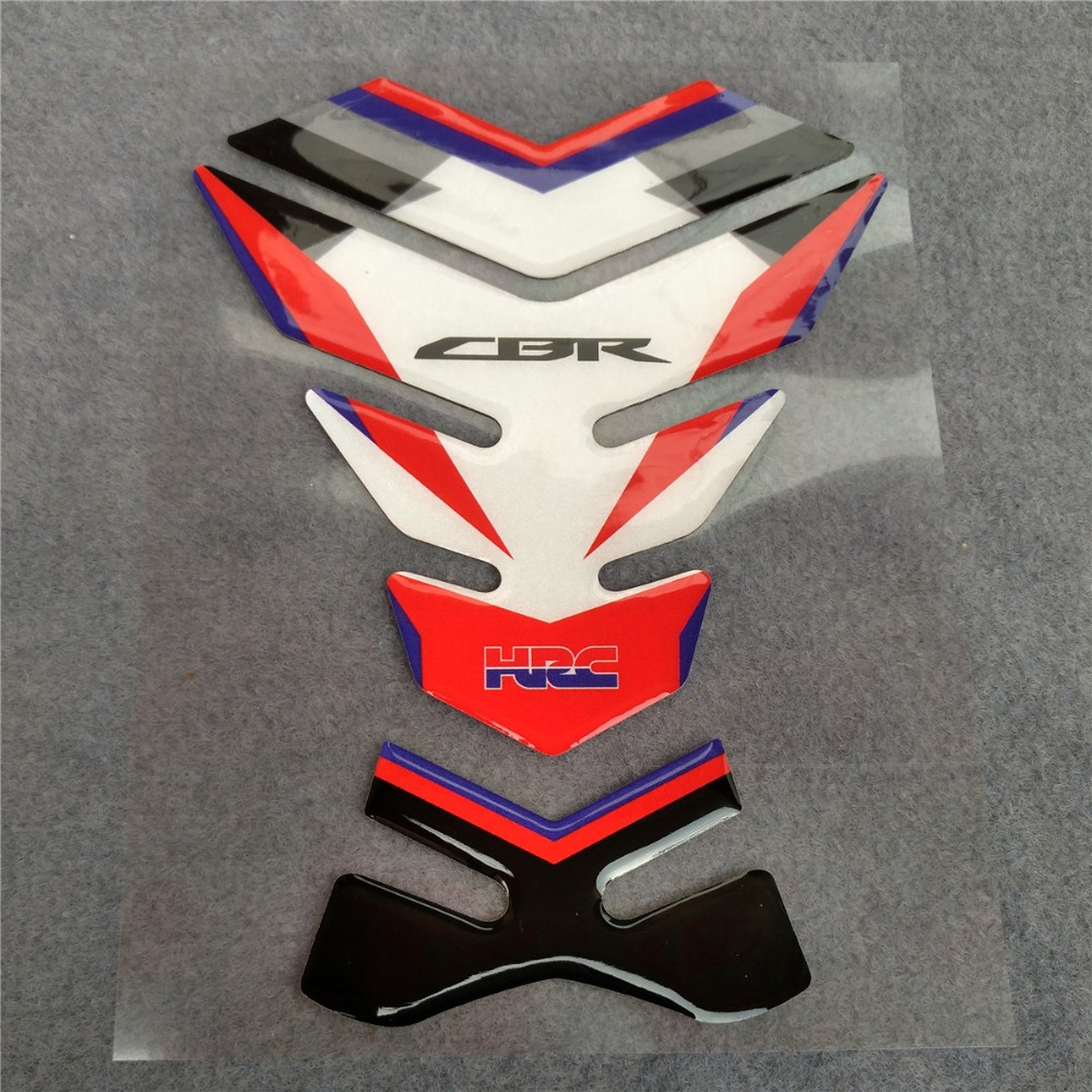 Motorcycle For Honda Tank Pad CBR600 CBR1000 1000 600 Motorbike 3D Resin Protector Decal Sticker General Purpose CBR All Model
