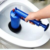 Air Power Drain suckers Blaster Gun High Pressure Powerful Manual Flexible Plunger suction cup Cleaner Pump For Toilet Bathroom