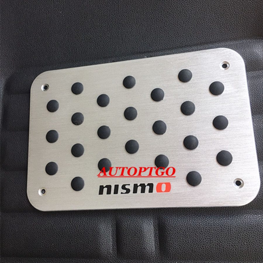 Aluminum Car Anti Skid Foot Floor Mats Carpet Mat Pad