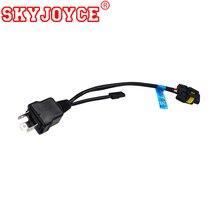 SKYJOYCE 1 х легко Реле Жгут управления кабель для bi xenon H4 Hi/Lo Bi-Xenon HID лампы управление проводкой Лер 1 для 1 h4 разъем